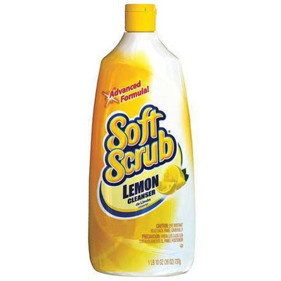 SOFT SCRUB DIA 00865 Cleansors, White, Lemon, PK9