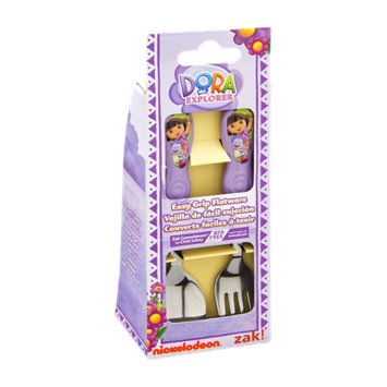 Zak Dora the Explorer Easy Grip Flatware