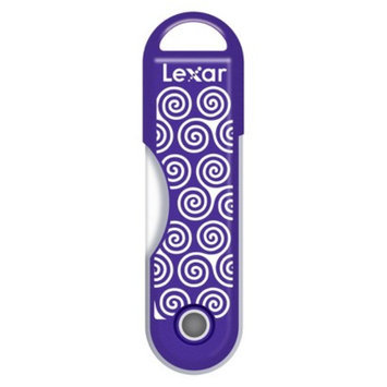 Lexar 32GB Swirls USB Flash Drive - Purple (JDTTS32BTR)