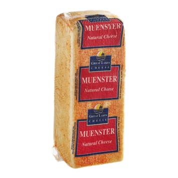 Great Lakes Cheese Natural Muenster Cheese