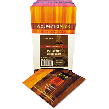 Wolfgang Puck Coffee, Provence, French Roast, 18 ct Pods, 3 pk