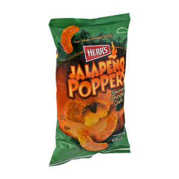 Herr's Jalapeno Poppers Flavored Cheese Curls