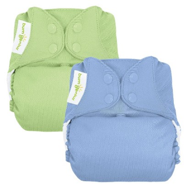 bumGenius 4.0 - One-Size Diaper - Snap (2Pk) - Boy - Twilight /