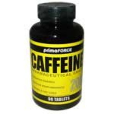 Primaforce Caffeine, 200 mg, Tablets, 90 tablets