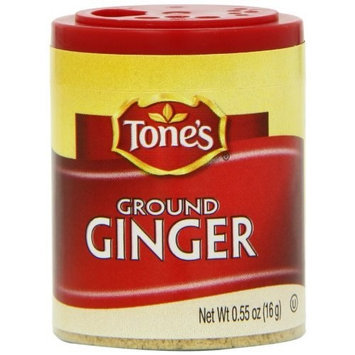 Tone's Mini's Ginger, Ground, 0.55 Ounce (Pack of 6)