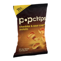 popchips Cheddar & Sour Cream Potato Chip