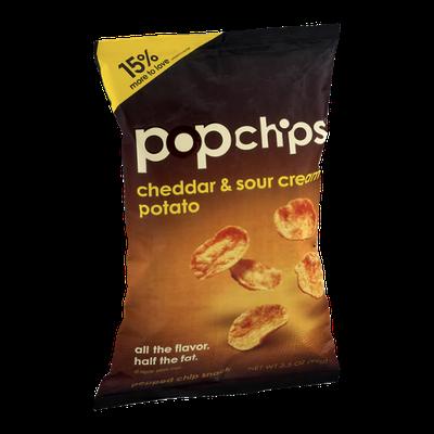 popchips Cheddar & Sour Cream Potato Chip