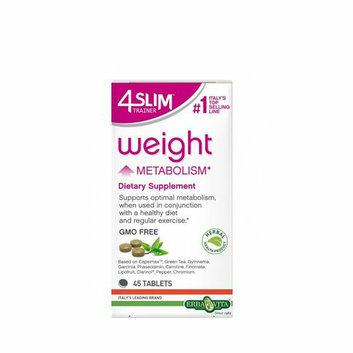 Erba Vita 4 Slim Trainer Weight Metabolism 45 tablets