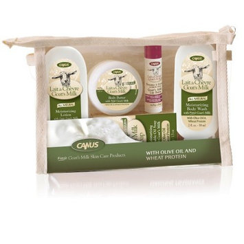 Canus Olive Oil and Wheat Protein Travel Size Gift Set