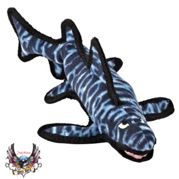 Bret Michaels Pets RockTM Tuff Shark Dog Toy