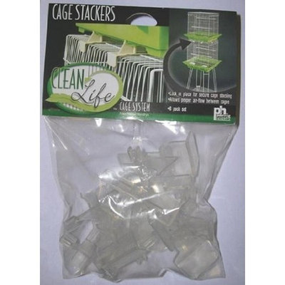 Prevue Clean Life Cage Stackers