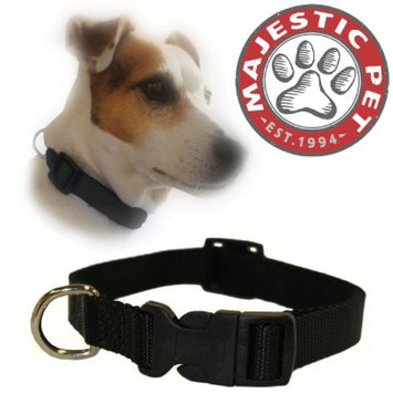 Target Home Majestic Pet Adjustable Collar - Black (Medium)