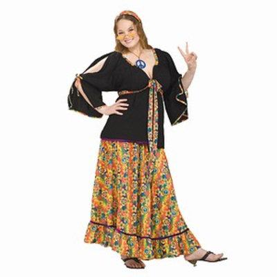 Forum Novelties 61870 Groovy Mama Costume Adult Plus