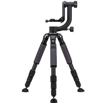 Induro GIT304GHB2K Grand Stealth Series 3 Carbon Fiber Tripod Kit with GHB2 Gimbal Head, 4 Sections