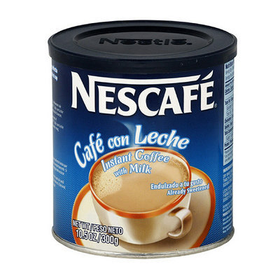 Nescafe Cafe Con Leche Instant Coffee With Milk