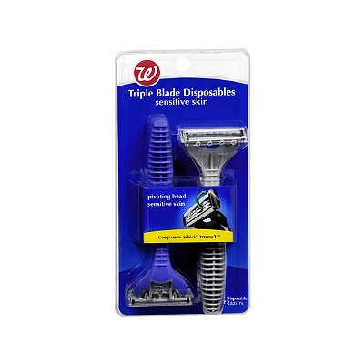 Walgreens Triple Blade Disposable Razors