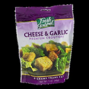 Fresh Gourmet Premium Croutons Cheese & Garlic
