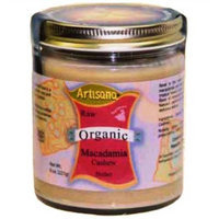 Artisana Macadamia/Cashew Butter (100% Organic), 8-Ounce Packages (Pack of 2)