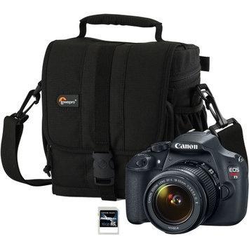 Canon 9126B003-3-KIT EOS Rebel T5 DSLR Digital Camera with Case (LP36106-0WW) an