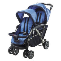 Duo Tandem Stroller - Blue by Foundations