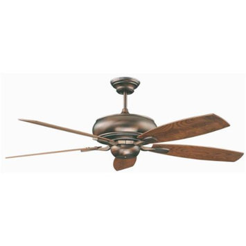 Concord Fans Roosevelt Ceiling Fan in Oil Brushed Bronze Finish