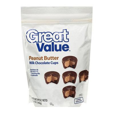 Great Value : Peanut Butter Milk Chocolate Cups