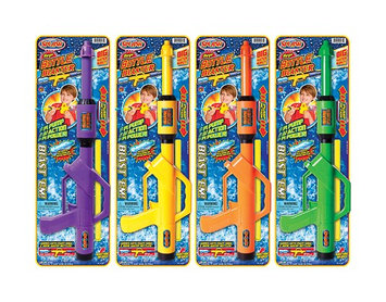 JA-RU 20oz Bottle Blaster Water Toy in Blue, Green, Orange And Yellow (231)