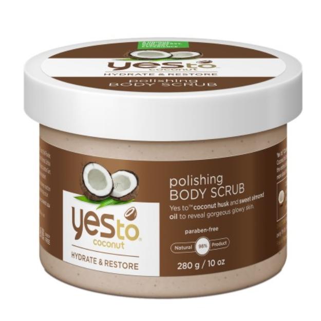 Yes To Coconut Polishing Body Scrub - 10 oz