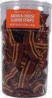 Triumph Wavy Bacon & Cheese Flavor Strips Dog Treats - Bacon & Cheese