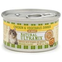 Castor & Pollux Ultramix Canned Indoor Chicken & Veggie Cat Formula, Chicken & Veggie 3 oz