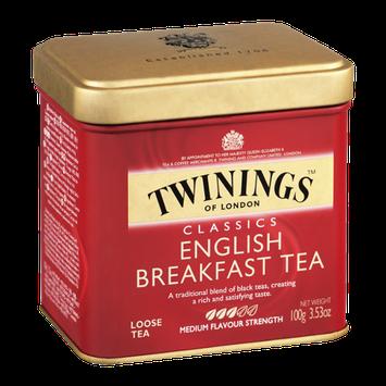 Twinings of London Classics English Breakfast Tea