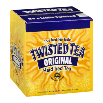 Twisted Tea Hard Iced Tea  - 12 CT
