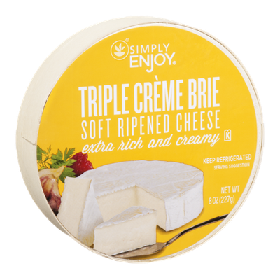 Simply Enjoy Soft Ripened Cheese Triple Creme Brie