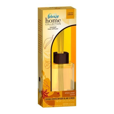 Febreze Home Collection Scented Reed Diffuser Anjou Pear Spice, 1.5-Ounce