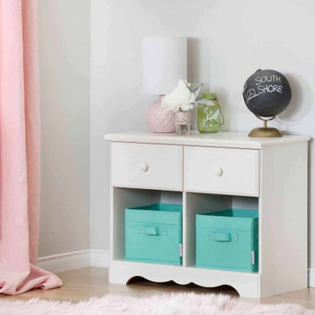South Shore Summer Breeze 2-Drawer Double Nightstand