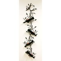Creative Creations ArtDeco Four Bottle Wall/Ceiling Wine Holder