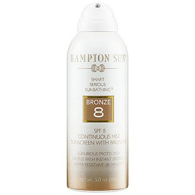 Hampton Sun SPF 8 Continuous Mist Sunscreen with Bronzer 5 oz