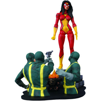 Diamond Select Toys Marvel Select Spider-Woman Action Figure