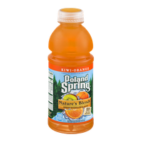 Poland Spring Nature's Blends Spring Water & Real Juice Kiwi-Orange