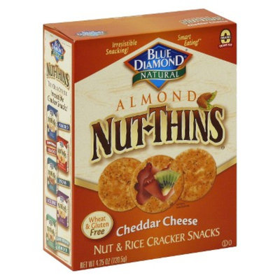 Blue Diamond Nut-Thins Almond Nut-Thins Cheddar Cheese