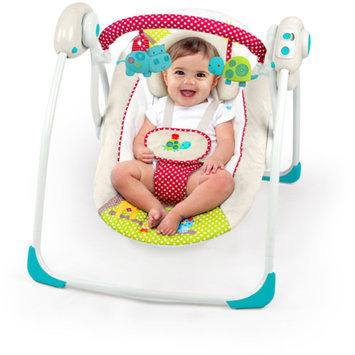 Comfort & Harmony Bright Starts Polka Dot Parade Portable Swing
