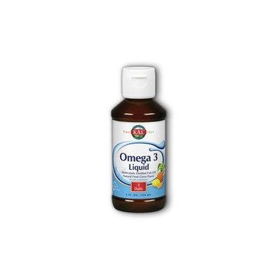 Omega 3 Liquid Fresh Citrus Kal 4 oz Liquid