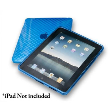 Connectland Anti-slip TPU Skin Case For Apple iPad 1st Generation Blue