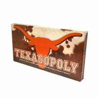 Texas-opoly Monopoly Game Ages 8+