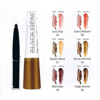 Black Opal Sheer Luminous Shine Lip Liner Lacquer Duo,love drop