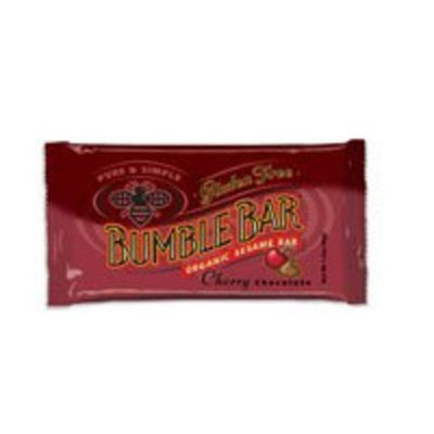 BumbleBar Bumble Bar Organic Seasame Energy Bar Gluten Free Cherry Chocolate