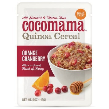 Cocomama Foods Orange Cranberry Quinoa Cereal, 5-Ounce (Pack of 3)