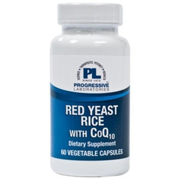 Progressive Labs Red Yeast Rice with CoQ10 60 vcaps