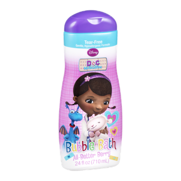 Disney Doc McStuffins Bubble Bath All-Better Berry