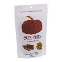 SuperSeedz Gourmet Pumpkin Seeds Cinnamon & Sugar